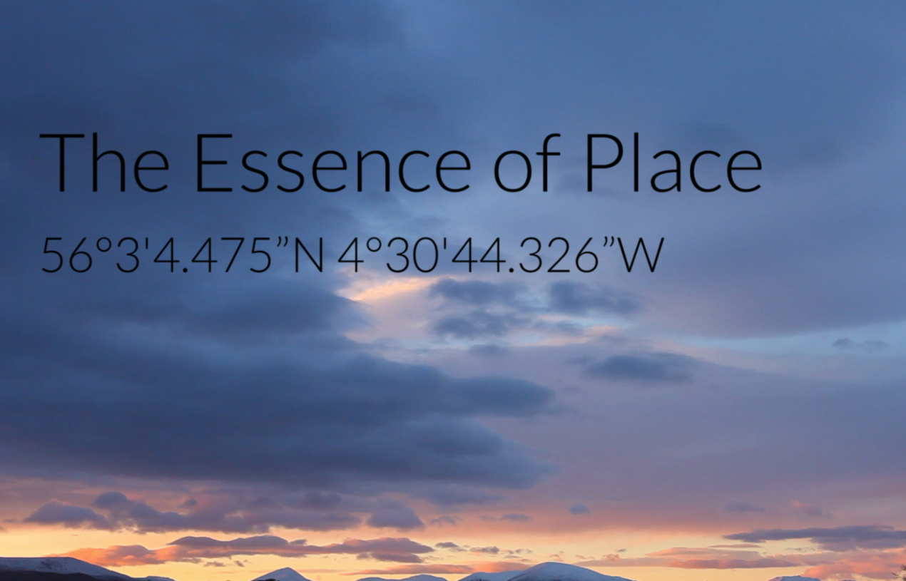 The Essence of Place – Susannah Ramsay (2017)