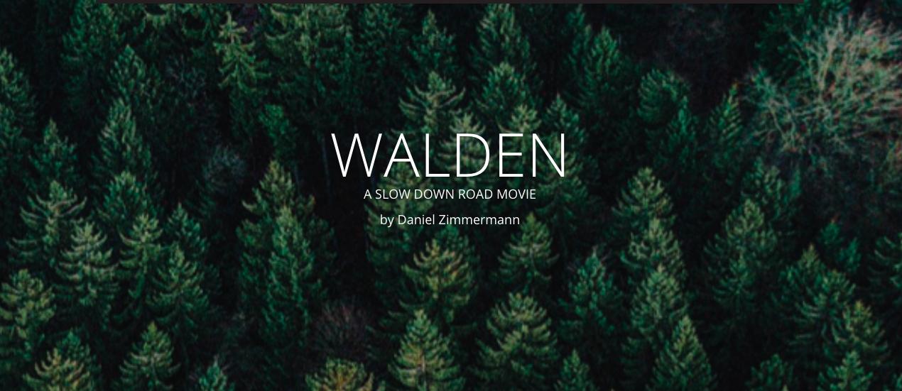 Walden – Daniel Zimmermann (2018)